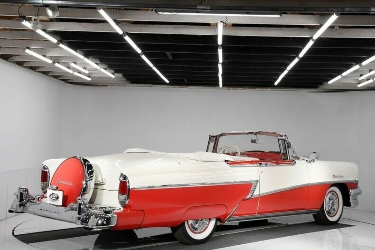 1956 Red Mercury Montclair Convertible with Red interior