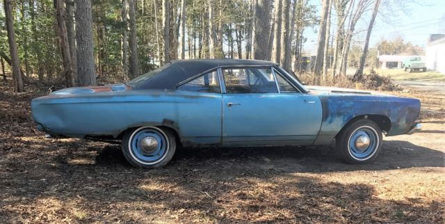 1968 Plymouth Road Runner RM21 BOTH MATCHING CARS 383 4 SPD