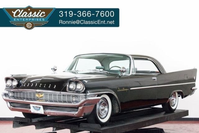 1958 Chrysler Saratoga restored solid with no rust issues ready to cruise