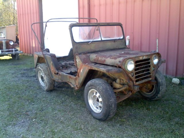 2 ford mutt m151 military ford jeep runs  uncut for sale