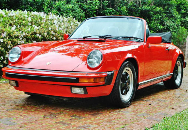 1986 Porsche 911 Mint original 911 conv no paintwork no issues