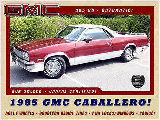 1985 GMC Other Caballero Limited Edition - RALLY WHEELS - GOODYEAR RADIAL TIRES