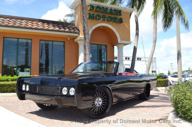 1967 Lincoln Continental 200 miles since restored! Air Suspension! Potent V