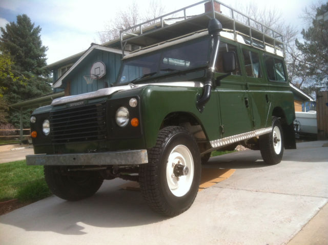 1962 Land Rover Defender