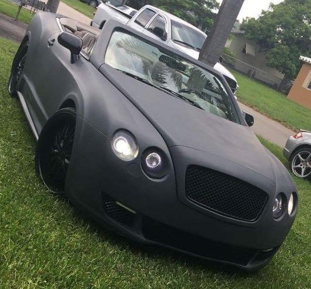 2014 Bentley Continental GTC Replica KitCar W/Sport Body