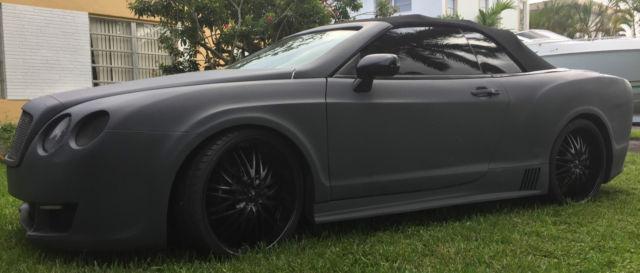 2014 Bentley Continental Gtc Replica Kitcar W Sport Body