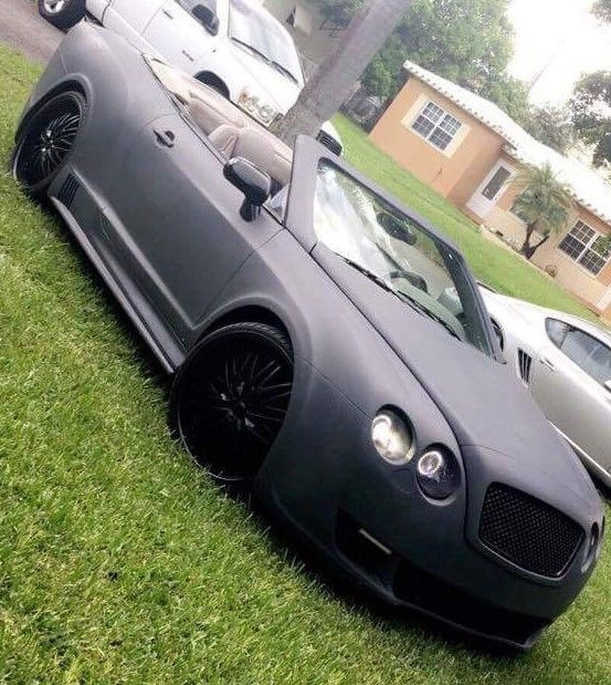 2014 Bentley Continental GTC Replica KitCar W/Sport Body