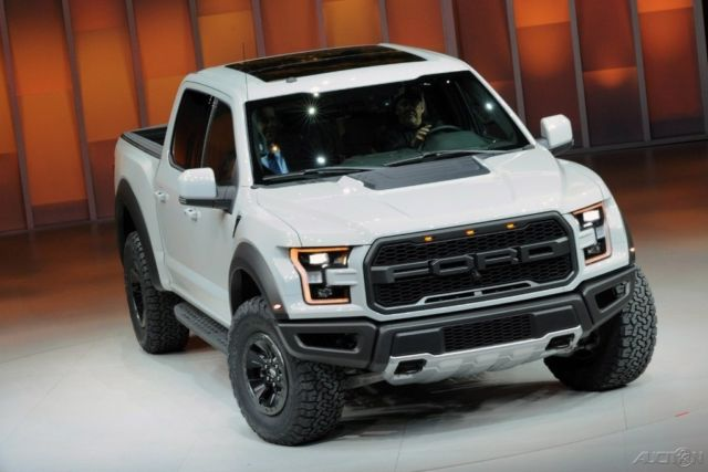 2017 ford f 150 raptor crew cab oxford white 17 for sale. Black Bedroom Furniture Sets. Home Design Ideas