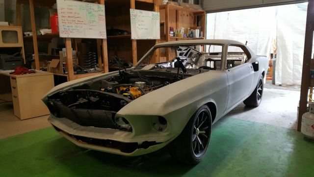 1969 Ford Mustang BOSS 302 Concept Car-5.0HO-Dark Horse Custom Build