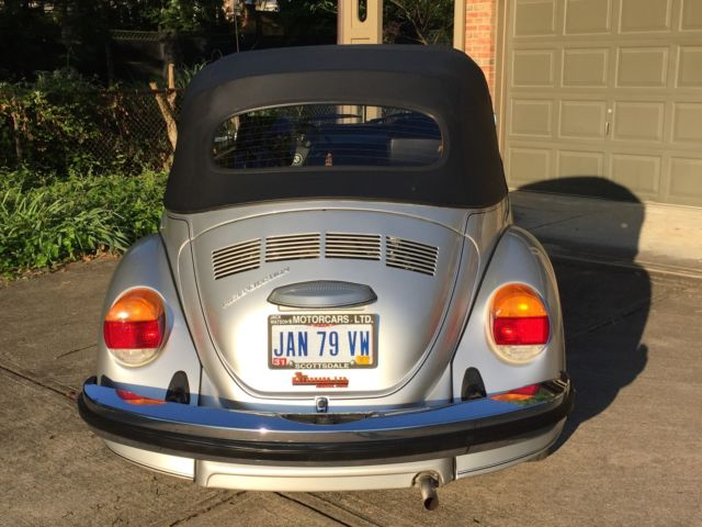 1979 Volkswagen Beetle - Classic Convertible - Karman Limited Edition