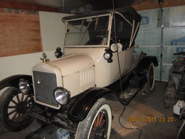 1923 Ford Model T 1 door/1 seat for 2