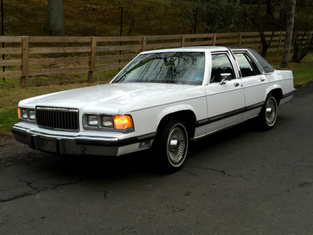 23000 miles 1991 Mercury Grand Marquis LS crown victoria ltd
