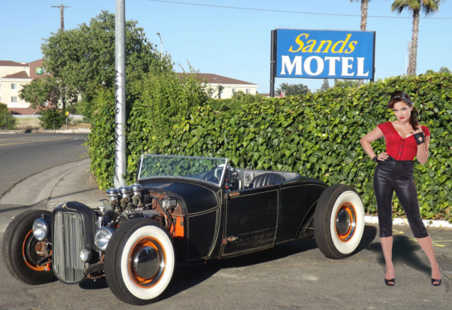 1929 Ford Model A 1929 Roadster 327 V8 3 Speed Very Fast 1932 Style