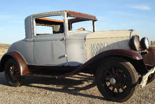 1929 Plymouth Bussness Coupe Wooden