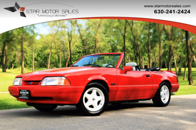 1992 Ford Mustang 2dr Convertible LX Sport 5.0L