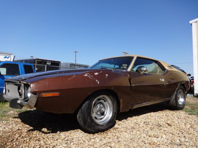 1973 AMC AMX Heavily optioned
