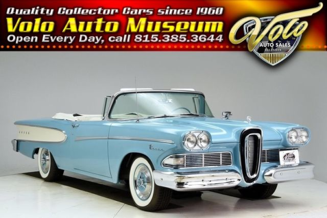 1958 Edsel Pacer --