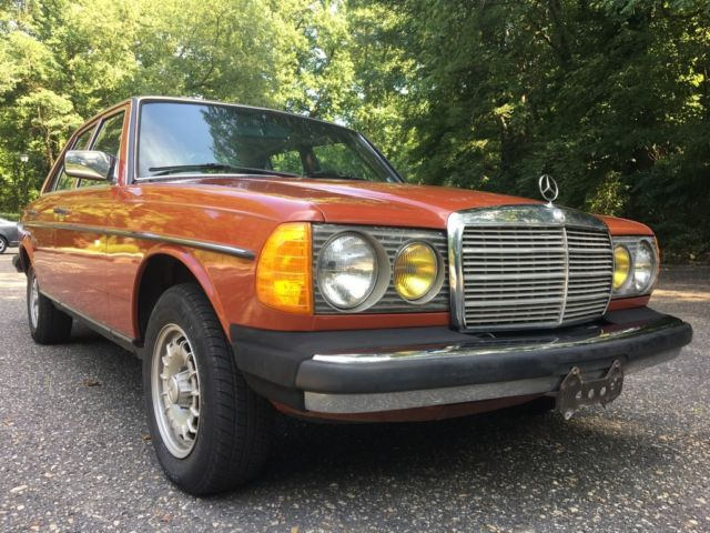 1983 Mercedes-Benz 300-Series 300D TURBODIESEL LOW ORIGINAL MILES FAMILY OWNED