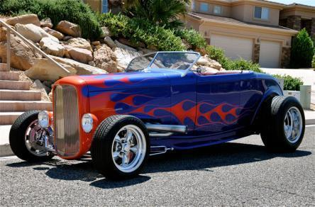 1932 Ford Other FLAMES