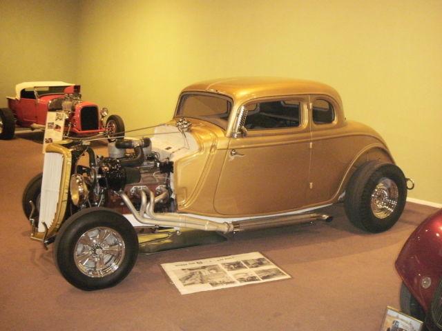 34 Ford 5 W Coupe Street Rod Hotrod Ratrod Gasser High Boy
