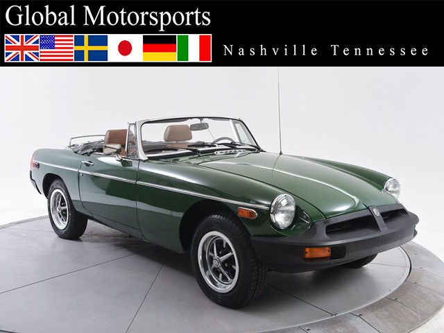 1980 MG MGB B Roadster