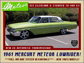 1961 Mercury Other Meteor Low Rider - OVER 30K INVESTED!