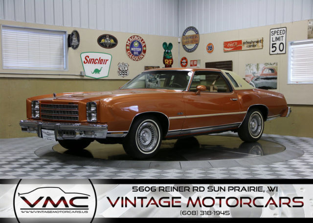 1977 Other Chevrolet Monte Carlo Landau Coupe with Other interior