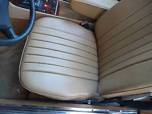 1985 GRAY Mercedes-Benz S-Class Convertible with TAN interior