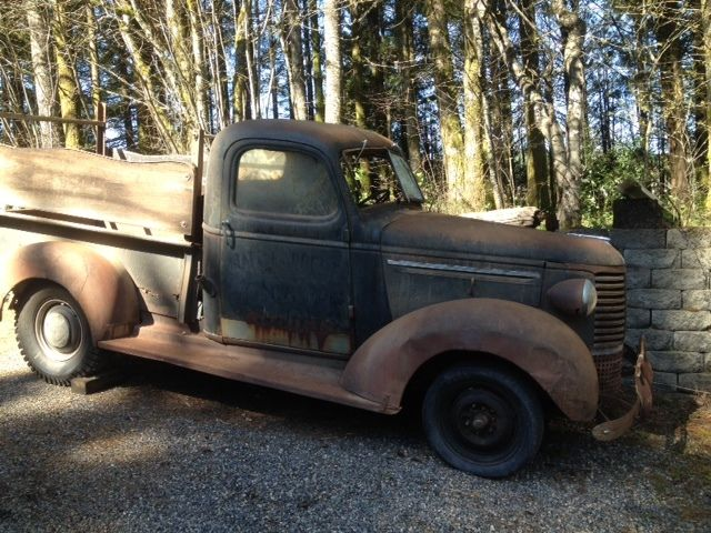 39 Chevy Pickup Barn Find Patina For Sale Photos
