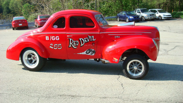 1939 Ford DELUXE GASSER