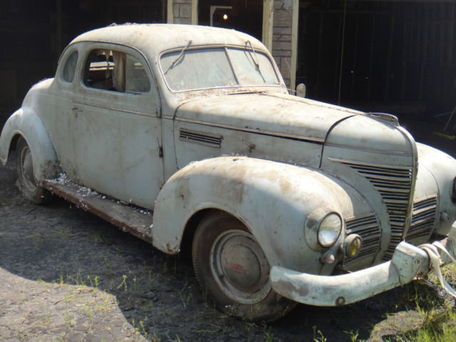 1939 plymouth businessman coupe