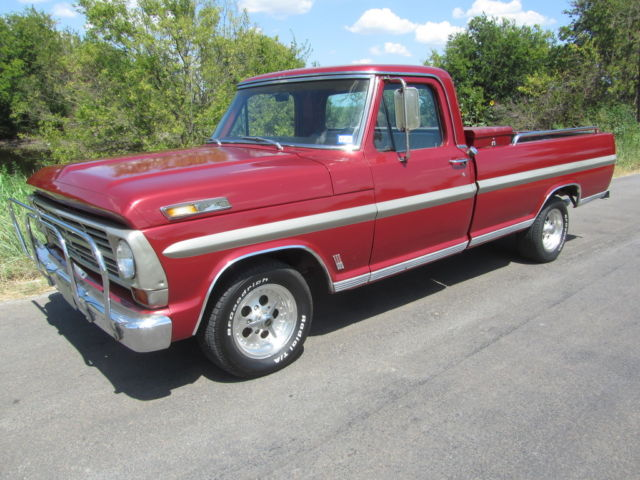 1968 Ford F-100 FACTORY BIG BLOCK CUSTOM TEXAS SOLID mild project