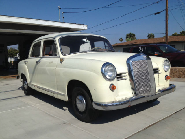 1958 Mercedes-Benz 190-Series