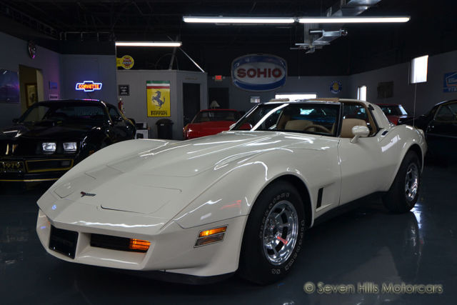 1981 Chevrolet Corvette #'s Match L81