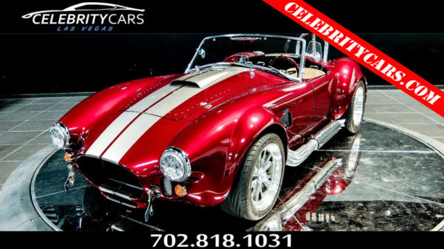1965 Shelby Cobra Backdraft  ASVE 408 Windsor Stroker