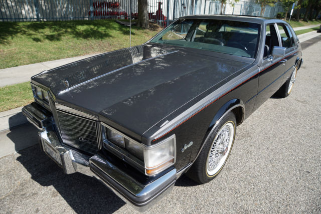 1985 Cadillac Seville Gray Leather