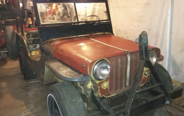 1944 Willys CJ2A CJ2A