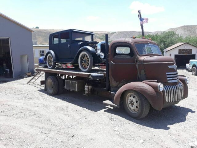 1946 Rust patina Chevrolet Other Crew Cab Pickup with Black interior