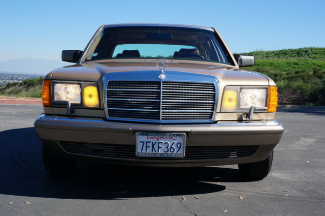 1988 Mercedes-Benz 500-Series 560 SEL, W126,S,560SEL