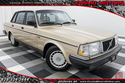 1993 Volvo 240 4DOOR 2.3L SEDAN AUTOMATIC