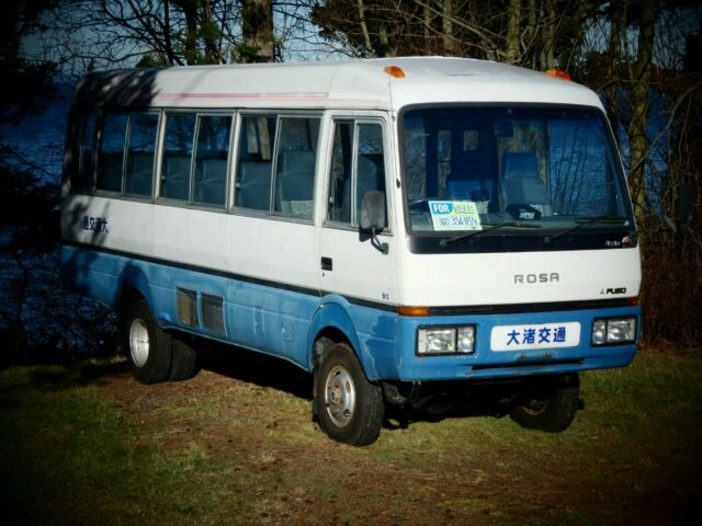 4x4 Compact Diesel Bus Mitsubishi Rosa Ready For Vanlife Conversion For Sale  Photos  Technical