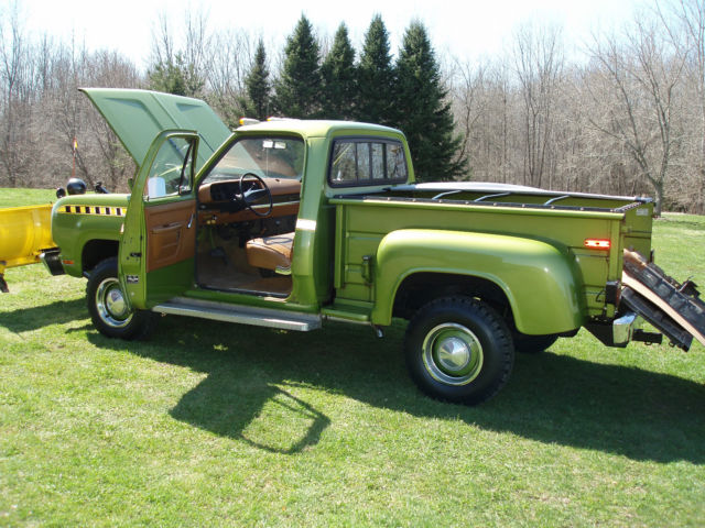 1978 Dodge Power Wagon W150 CUSTOM