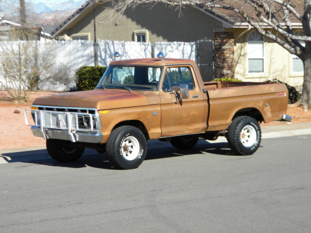 1974 Ford F-100 Shortbed Highboy Conversion