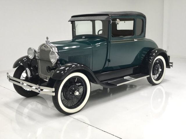 1929 Ford Model A 5-Window Coupe