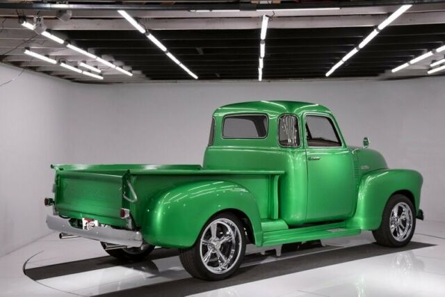 1950 Green Chevrolet Other Pickups 5 Window Deluxe Pickup Truck with Tan interior