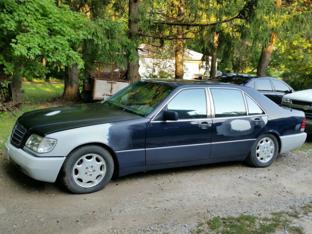 1992 Mercedes-Benz 500-Series