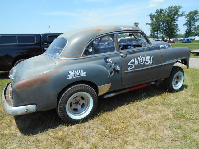 51 Chevy Styleline Deluxe Gasser Quot Shifty 51
