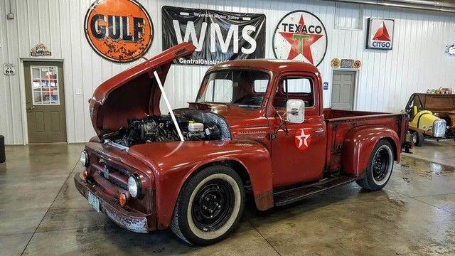 53 Red Ih Pickup Truck 04 Durango Chis Clic Show Car Awd 5 7 Hemi V8