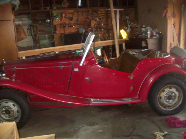 1954 Replica/Kit Makes MG TD TD
