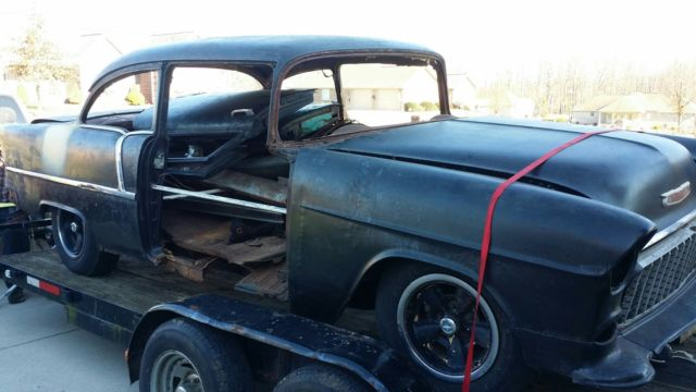 55 Chevy 2 Door Post Car For Sale Photos Technical